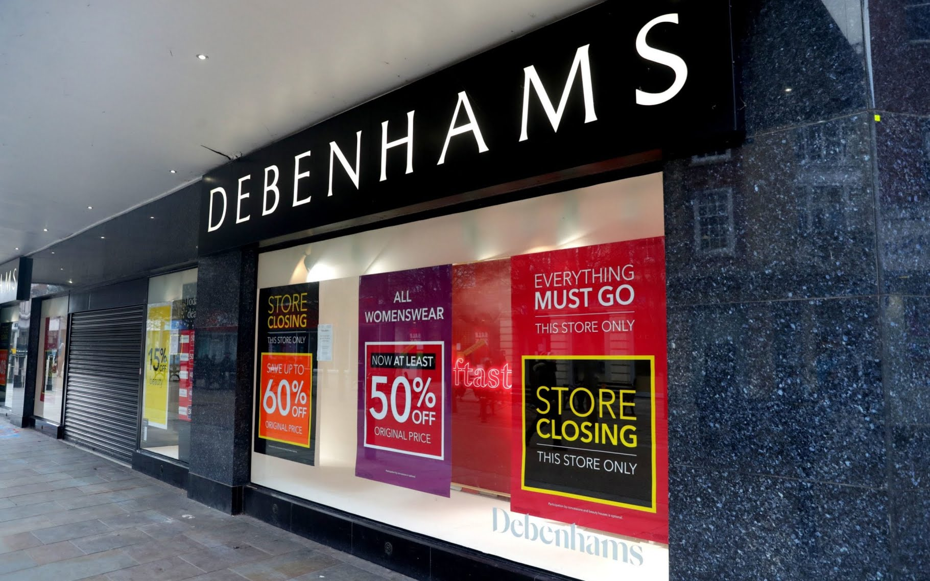 17,500 chain stores closed last year in pandemic retail carnage
