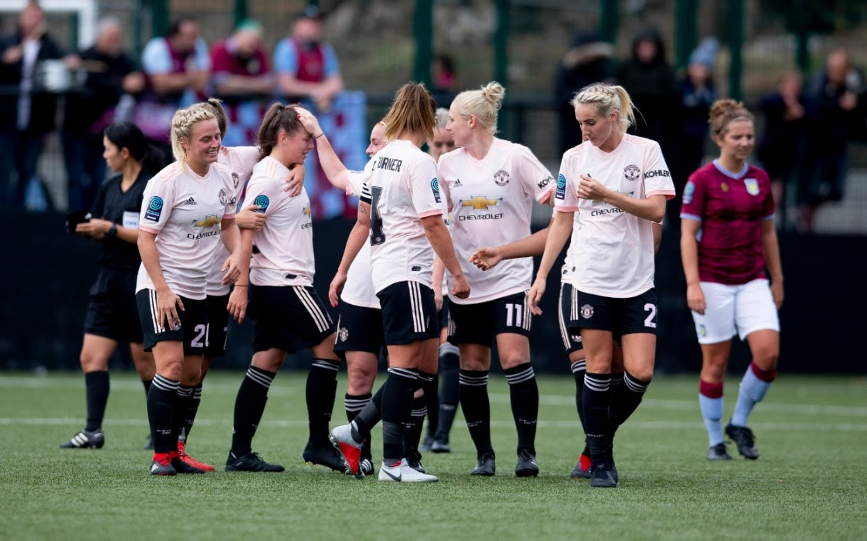 Manchester United Women were never in any trouble