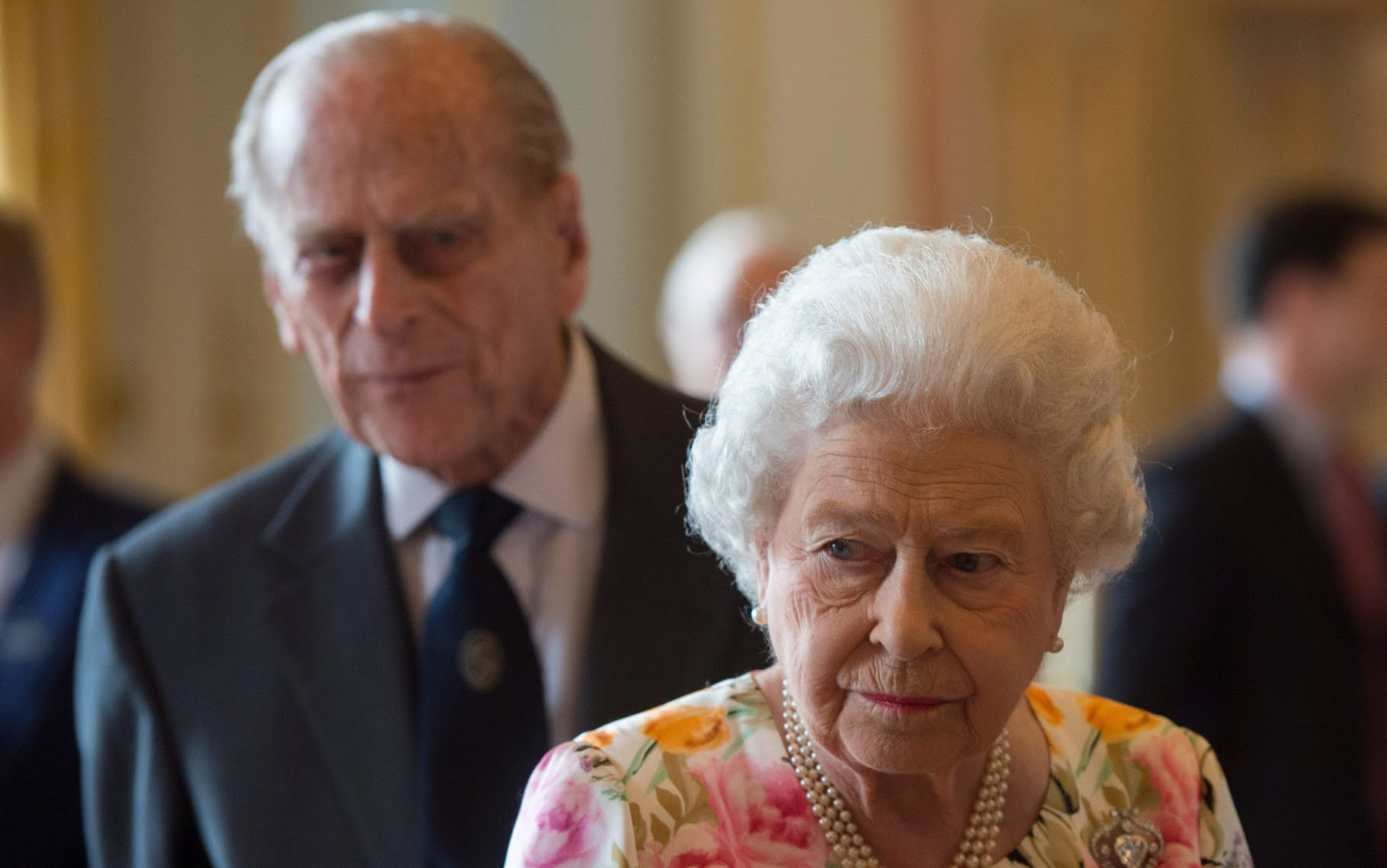 Queen was told she should not marry Prince Philip by courtiers because he was too funny, biographer claims