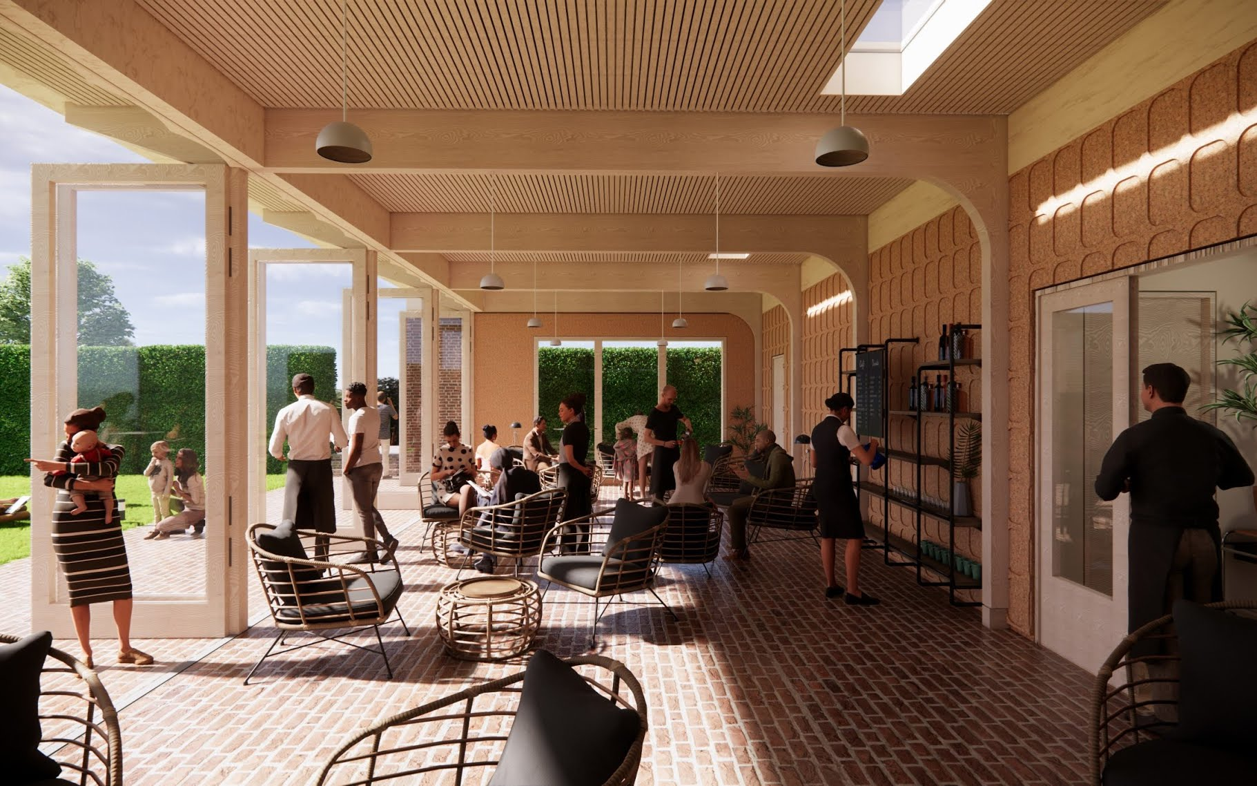 Glyndebourne shells out for new dining space made from oyster and lobster leftovers