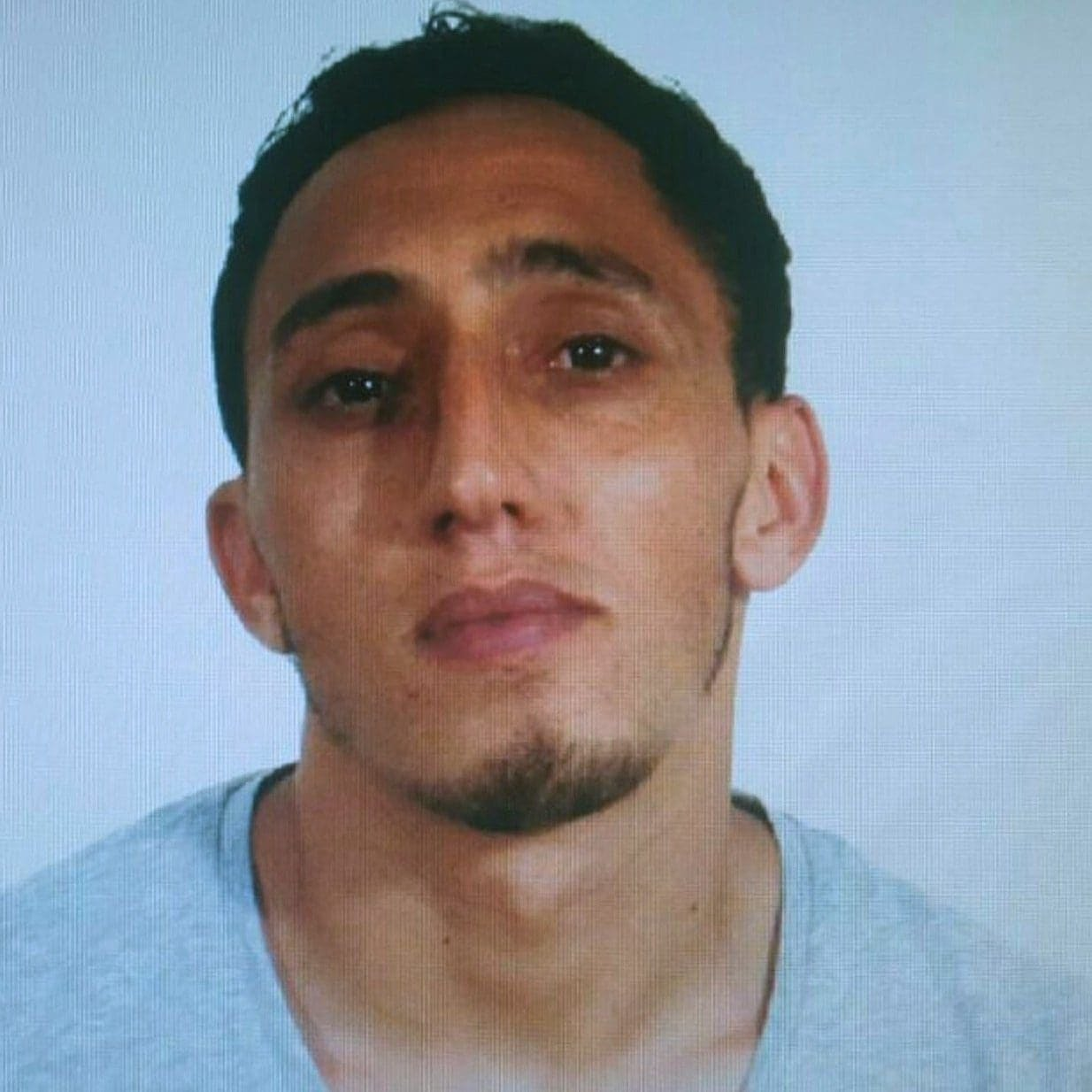 A handout photo made available by Spanish National Police shows Driss Oukabir, alleged to have rented the van which was used to crashed into pedestrians in Las Ramblas